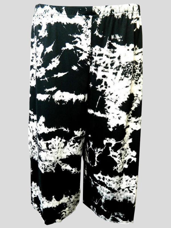Regina Plus Size Tie Dye Print Palazzo 16-26