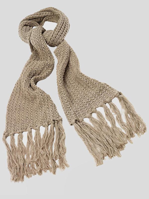 Scarlett Knitwear Tassels Winter Warm Scarfs