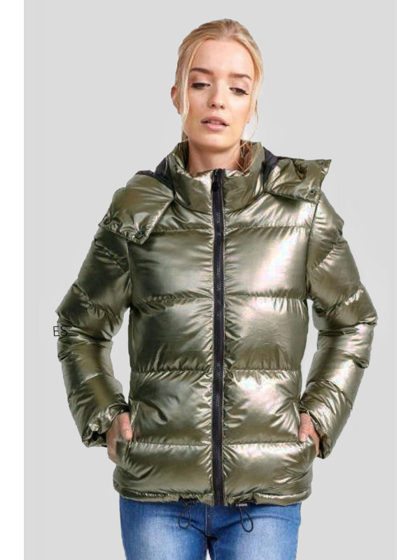 Sutton Puffer Padded Bomber Jacket 8-16