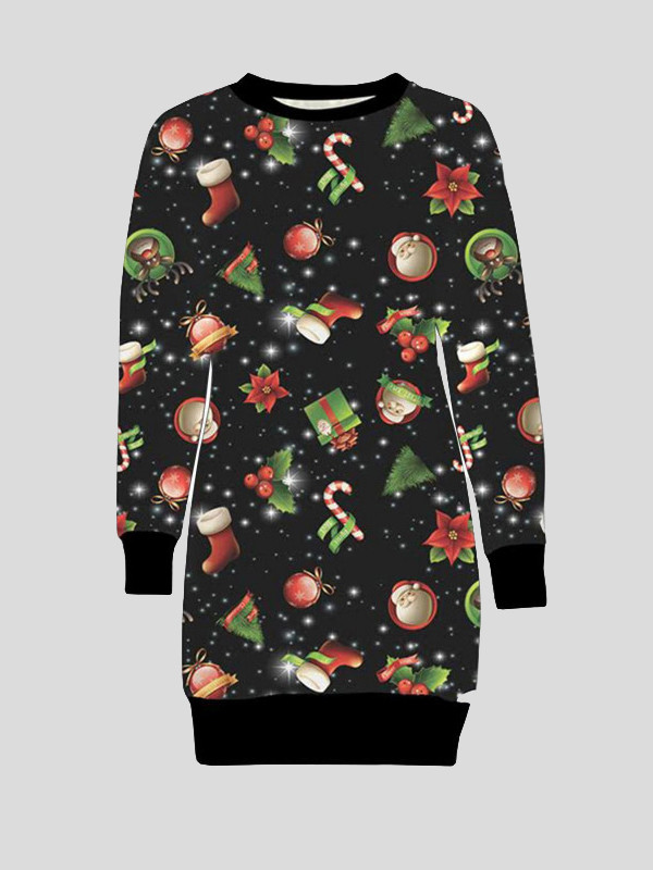 Lea Plus Size Rudolph Candy Gift Xmas Jumpers 16-22