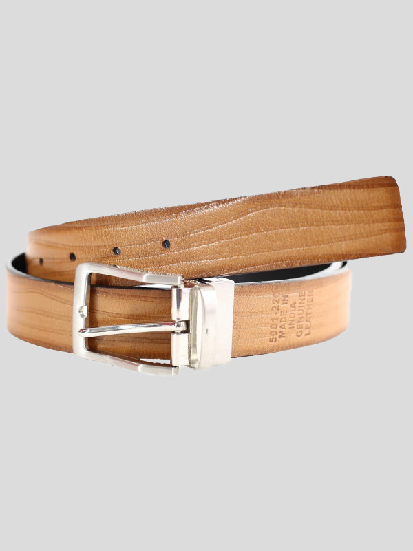 Warner Mens Textured Genuine leather Belts S-3XL