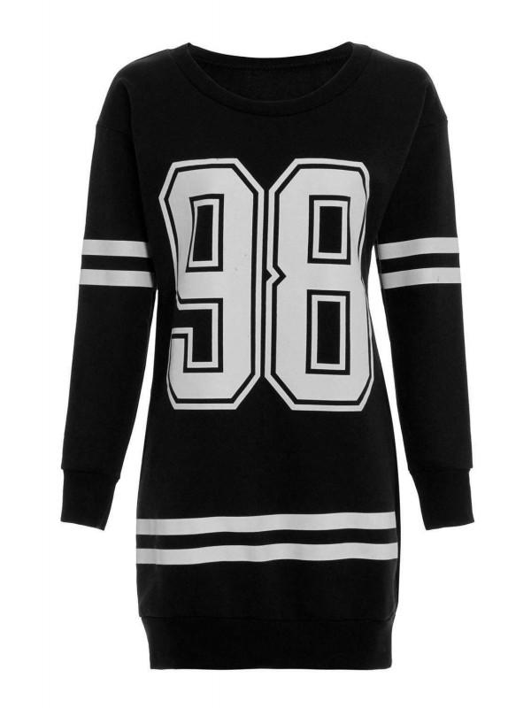 Aanya Plus Size 98 Print Sweatshirt Jumpers 16-22