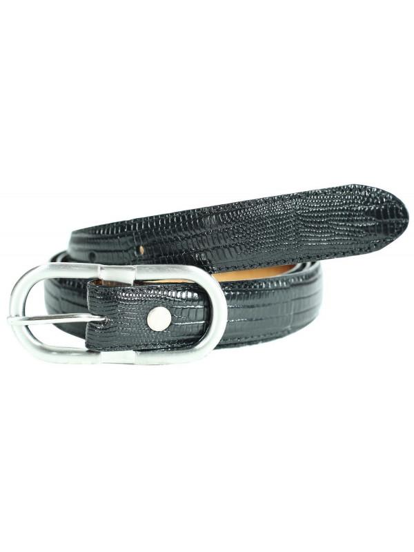 Sophie Womens Lizard Print Genuine Leather Belts M-4XL