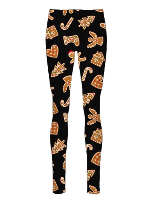 Willow Candy Stick Ginger Bell Xmas Leggings 8-34