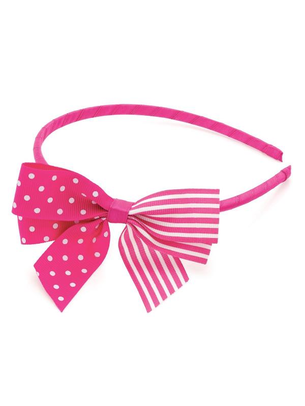 Priscilla Polka Dot Bow Headbands