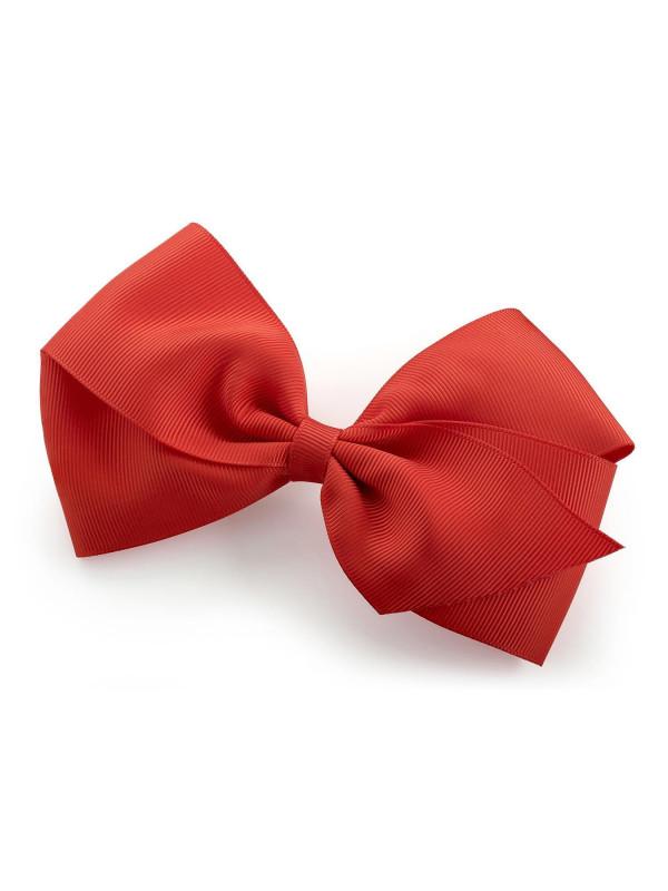 Adelina Womens 14cm Grosgrain Ribbon Bow Hair Clip Accessories