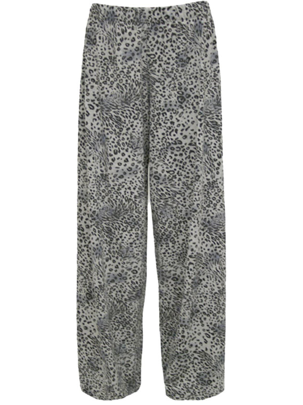 Caitlin Brooke Animal Print Palazzos 12-30