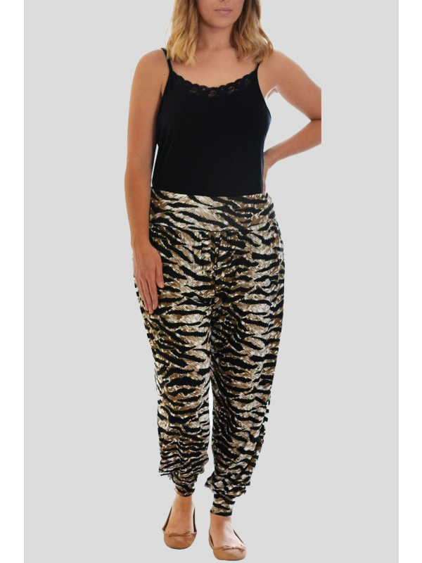 Luna Jungle Printed Harem Trouser 12-26