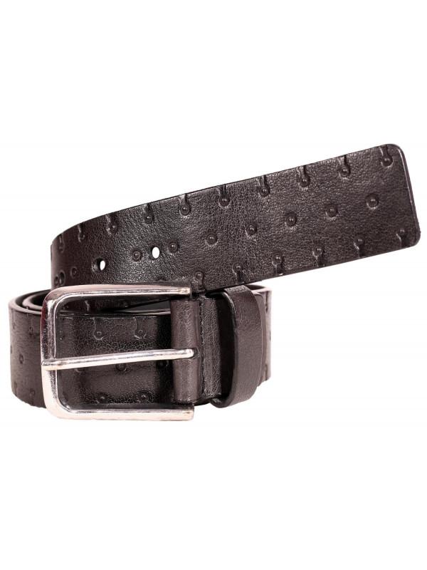 David Brass Antique Buckle Genuine leather Belts S-3XL