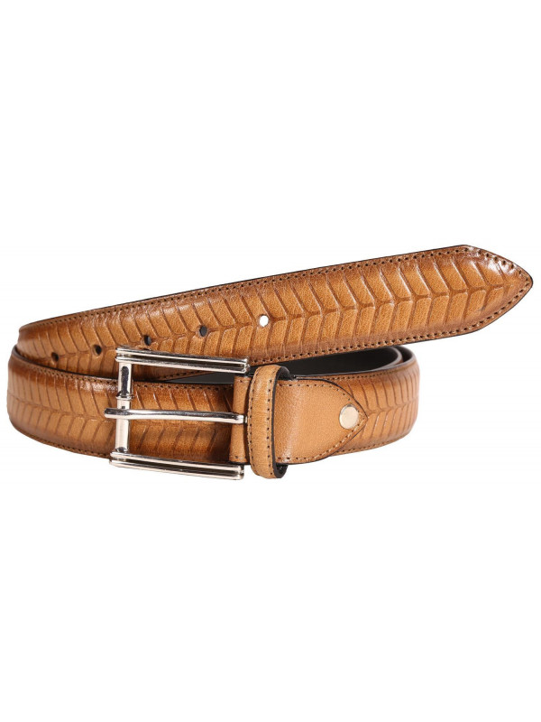Nathan Mens Reptile Skin Buckle Genuine leather Belts S-3XL