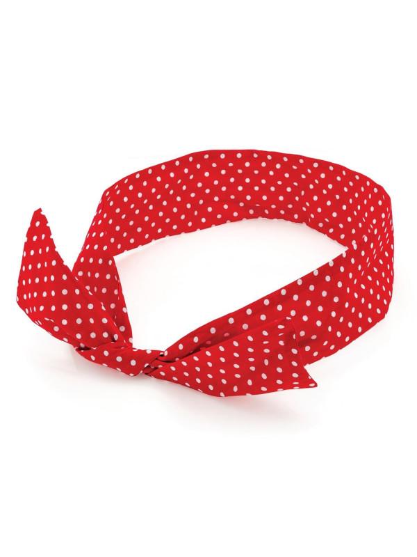 Matilda Polka Dot Headscarfs