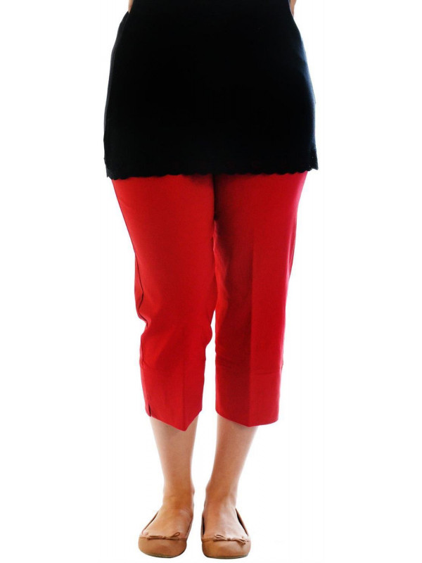 Janelle 3/4 Length Capri Trousers Pants Shorts 12-24