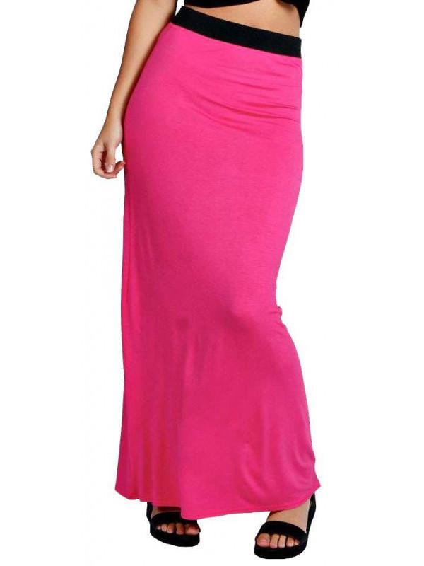 Faith Full Length Gypsy Jersey Maxi Skirt 8-26