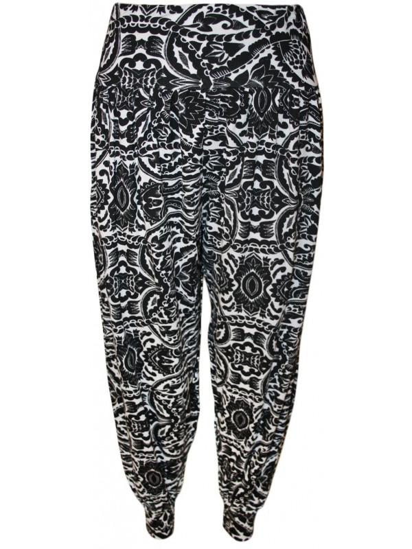 Farrah Paisley Printed Harem Trouser 12-26