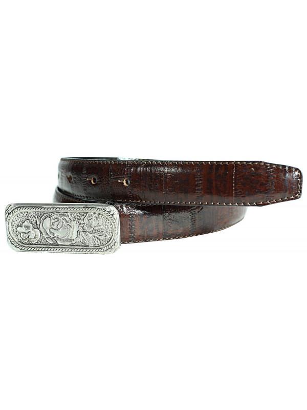 Lola Womens Retro Vintage Brown Genuine Leather Belts M-4XL