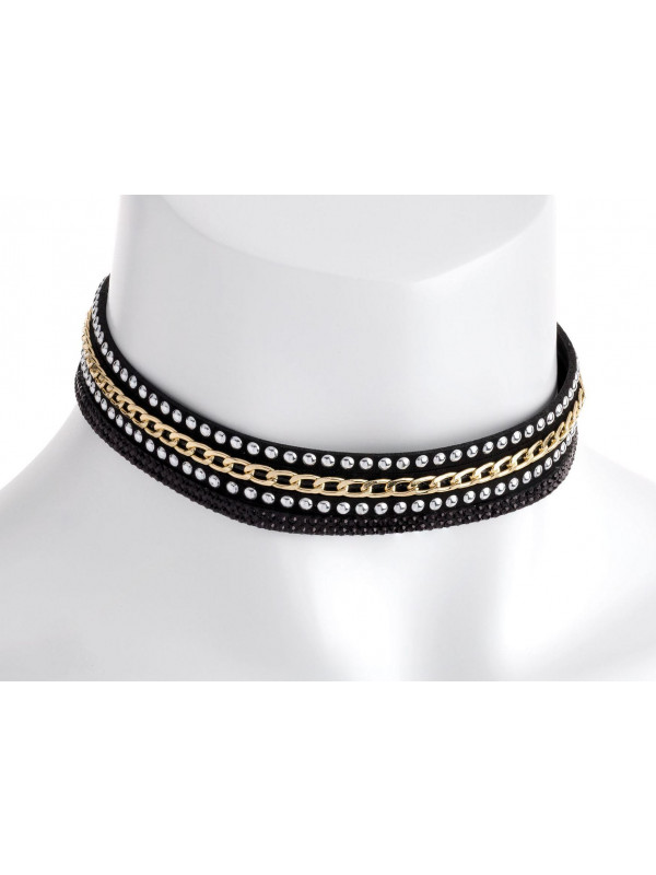Jemima Bead Chain Look Choker Necklace