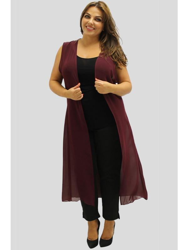 Abigail Chiffon Maxi Waist Coat 16-26