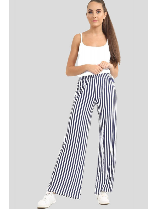 Collins Flared Wide Leg Palazzo Trousers 8-26