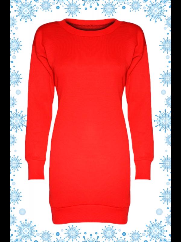 Bryony Plus Size Plain Sweat Shirt Jumpers 16-22