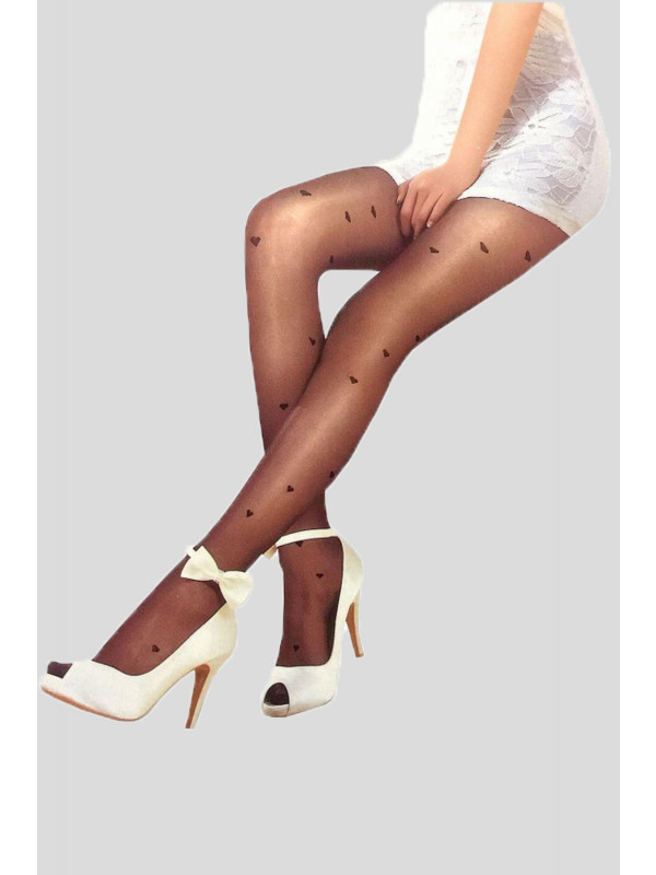 Eliza Diamond Mesh Leggings Stockings