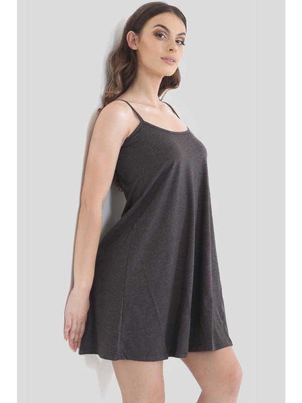Isley Plain Flared Swing Dress 8-14