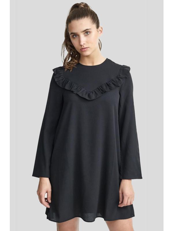 Jada Solid Woven Swing Dress Top 16-22
