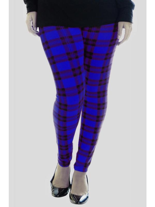 Jessie Royal Tartan Print Leggings 12-26