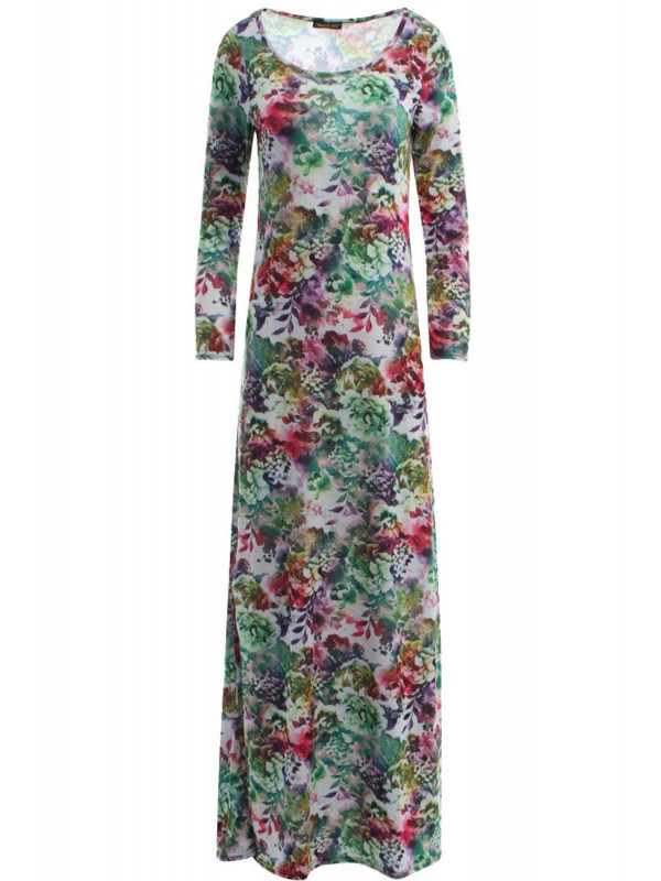Katie Green Leaf Dress 8-14