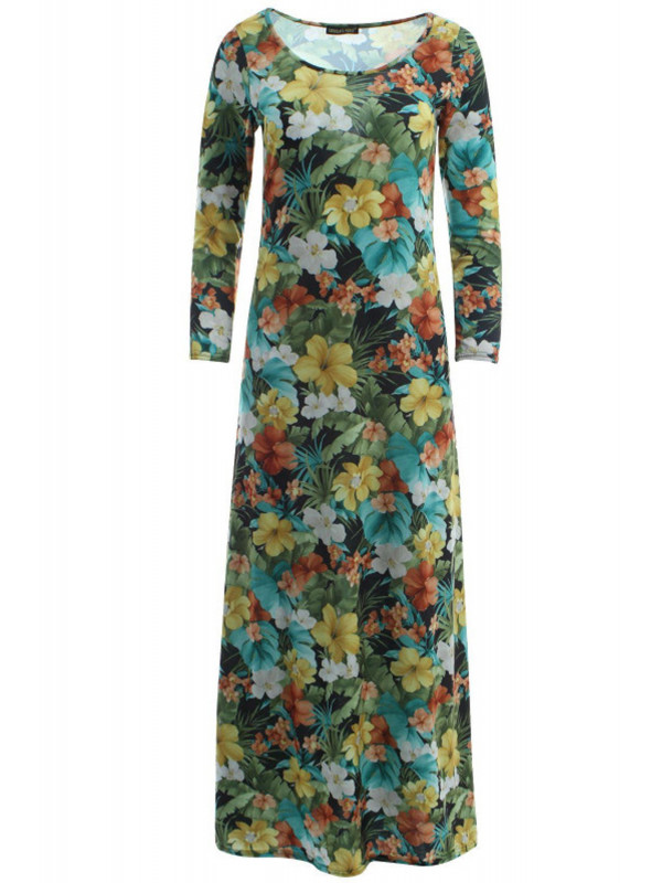 Kayleigh Tropical Floral Dress 8-14