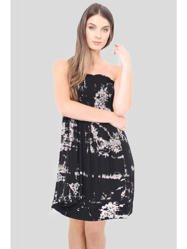 Luna Tye Dye Printed Sheering Top 8-26