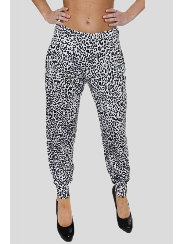 ROWAN Animal Printed Harem Pants 12-14
