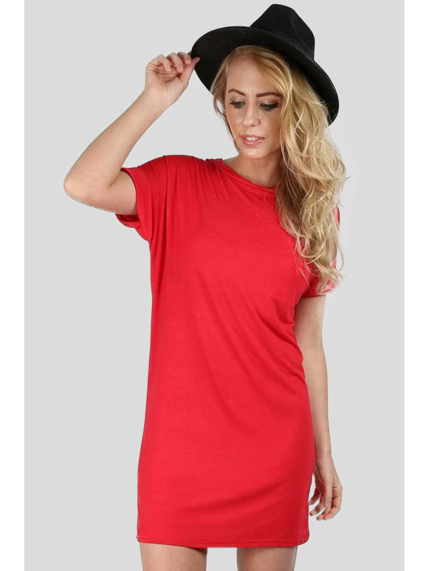 JAZMINE Plus sized Turn Up Cap Sleeve Tops 16-22