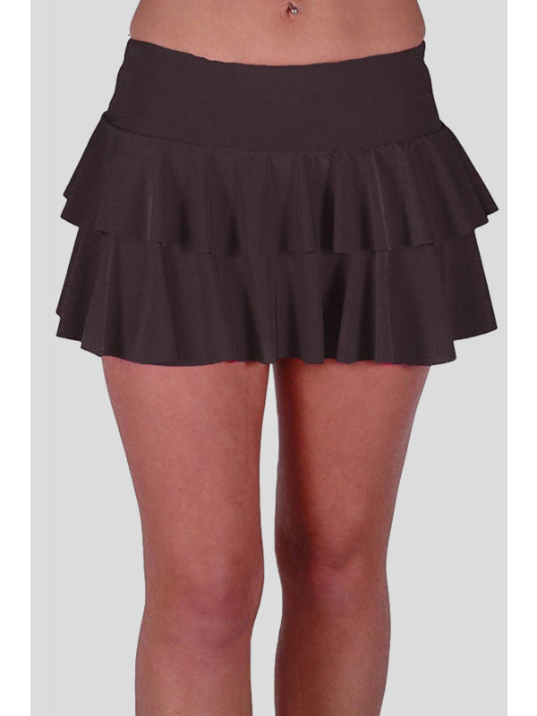 Thea Rara Plain Neon Colors Mini Stretch Skirts 8-14