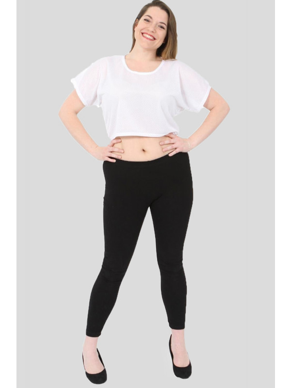 Nina Plain Airtech Crop Tops 8-14