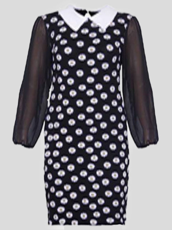 Zara Chiffon Sleeve Printed top 14-16